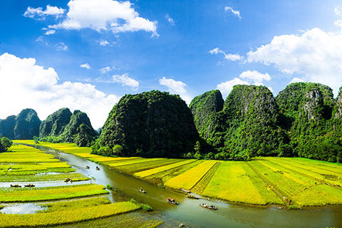 Ninh Binh Tour: Hoa Lu -Tam Coc, the ancient Capital and Heaven cave